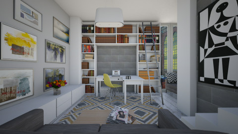 Creative WORKspace - Office - by AnnaMull