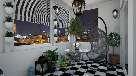 Terasa 1234 - Living room - by TeA design Belgrade