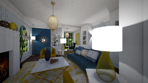 Gold Rush - Glamour - Living room - by Shealyn Richardson