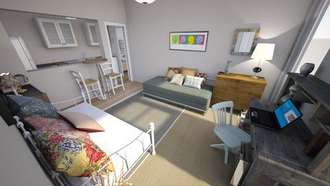 Roommates Studio 2 - Eclectic - Living room - by KajsaRain