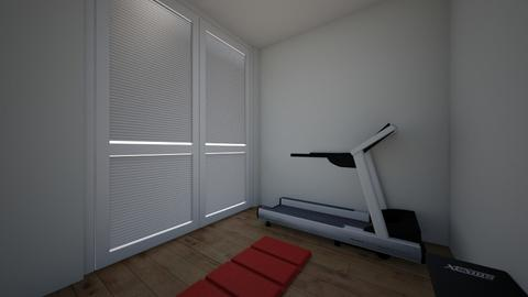 Basement workout room - by jesse1sen