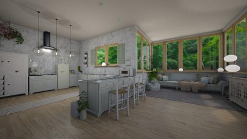Shabby Chic - Rustic - Kitchen - by tieganclayton