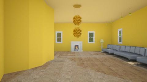 Yellow Hall - by RocketFlyer22