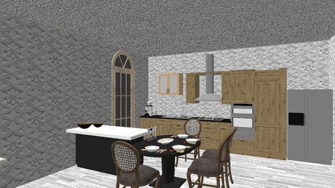 souvlakis kitchen - Kitchen - by souvlakis