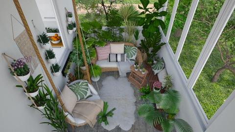 Green balcony - Garden - by Laurika