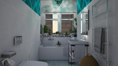 Bathroom in the city  - Bathroom - by Tree Nut