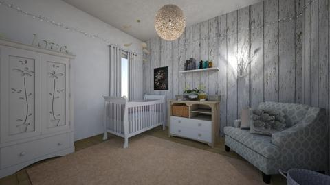 Baby Flower Room - Kids room - by neverlanddesigns