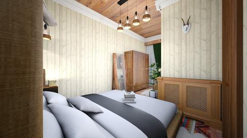mountain bedroom - Rustic - Bedroom - by Bianca Interior Design