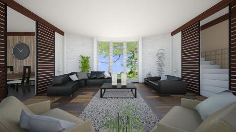 Bamboo living - Living room - by xLauraa