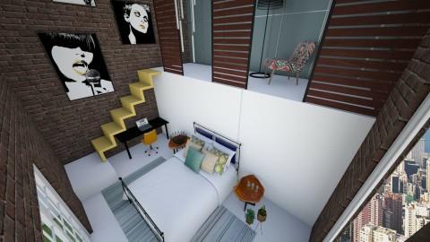 po dlugiej przerwie - Bedroom - by WikiMiki978