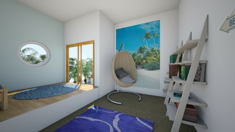 books by the beach - Modern - Bedroom - by tlock46
