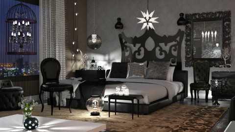 night lights - Glamour - Bedroom - by anchajaya