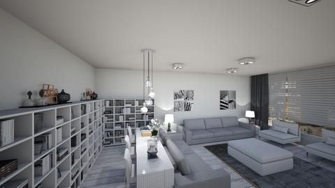 yeni ev - Living room - by dilaoztr