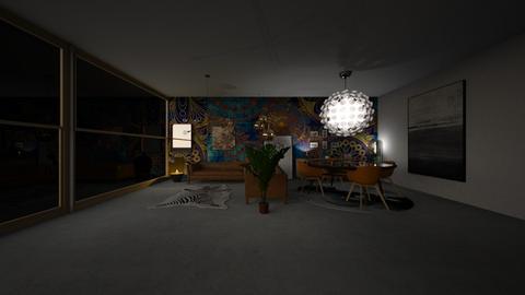 Bohemian living room - Modern - Living room - by yarno