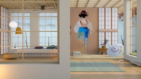 Geisha  - Bedroom - by Mum Dali