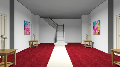 Hall of advocat A - Living room - by Angela styles