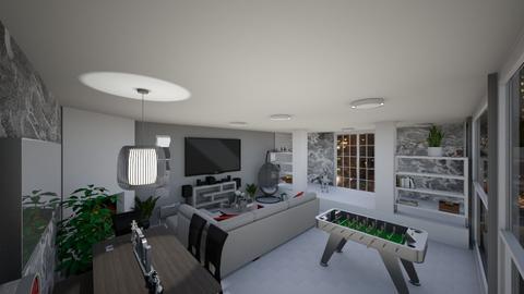 c c - Minimal - Living room - by kellynazha