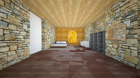 Little superb room - Bedroom - by Balthazar Pays
