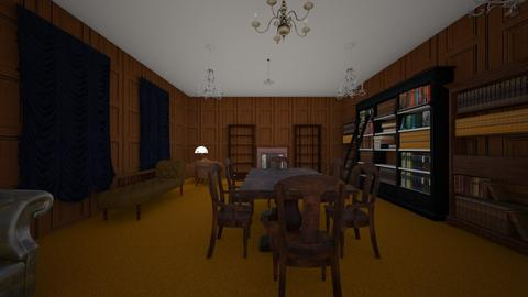 Dining Hall - Dining room - by WestVirginiaRebel