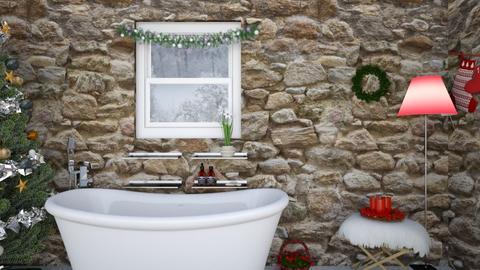 Xmas Bath - by gaietta_aa