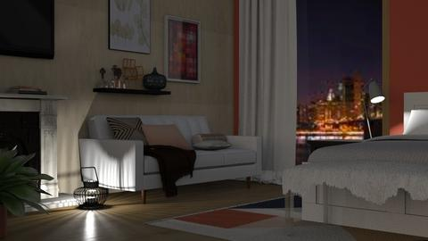 Studio Apartment - Modern - Bedroom - by millerfam