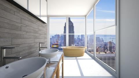 Modern and Urban bathroom - Bathroom - by Simonexx