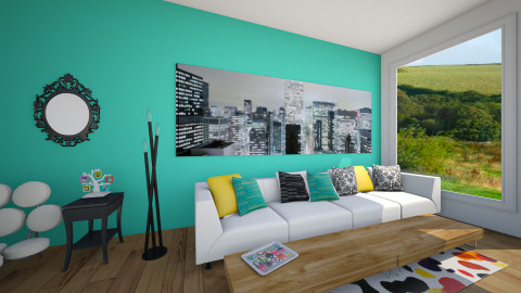 Living Room - Modern - Living room - by Kenzie_KO