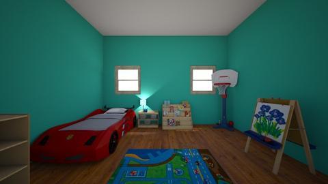 My house  Wills room - by chloe rayne