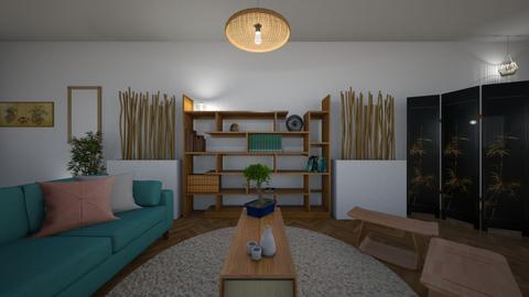 Bamboo Living - Living room - by raphaelfernandesdesign