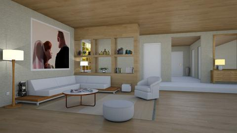 Helen y Robert Parr - Eclectic - Living room - by Elenn