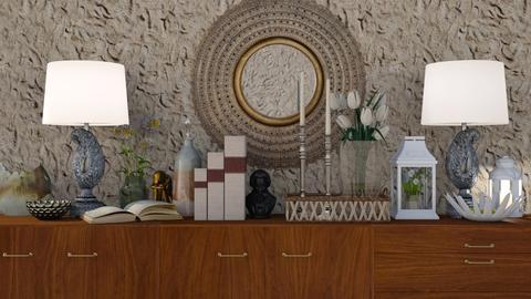 Dressed Sideboard - Rustic - Living room - by HenkRetro1960