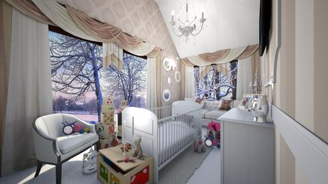 isabelle3 - Glamour - Kids room - by Aeea P