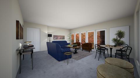 FolsomLGd - Living room - by evakarwowska