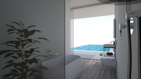 b Wohnung mit pool - Modern - Bathroom - by Marie Harrer