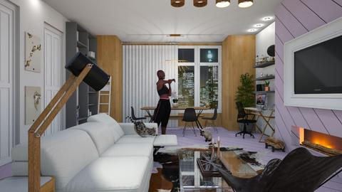 Template Baywindow Room - Bedroom - by carvellak