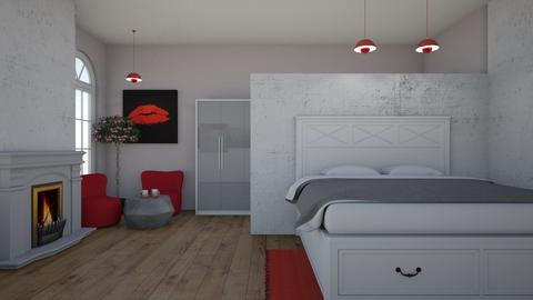 Valentines - Modern - Bedroom - by colorful_eye