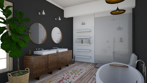 dottss - Vintage - Bathroom - by Ripley86
