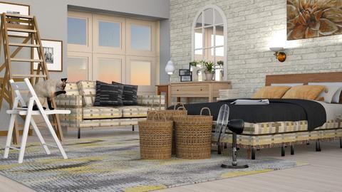 Big_Baskets - Living room - by ZuzanaDesign