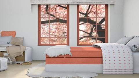 A Little Pink - Modern - Bedroom - by millerfam
