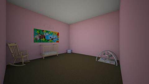 girls nursery  - Kids room - by dmweknkfnkw