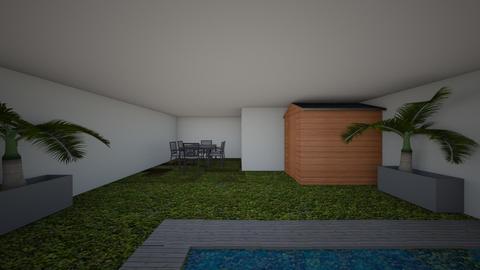 jardin - Garden - by Marta25
