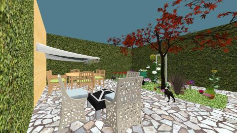 Garden patio - Garden - by Daisydance24