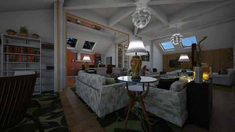 Bungalow - Living room - by Maria Helena_215