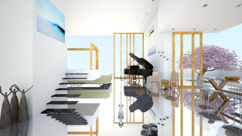 Fantasie Duet - Modern - Living room - by russ