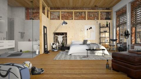 Meet Walter - Bedroom - by MandyB84