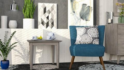 M_Medallions - Living room - by milyca8