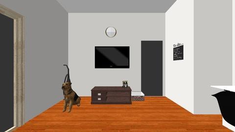 Living Room Floor Plan - by MaryamDiao