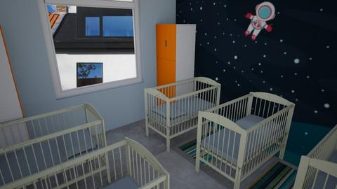 playroom slaap - Kids room - by KatrienVerheggen