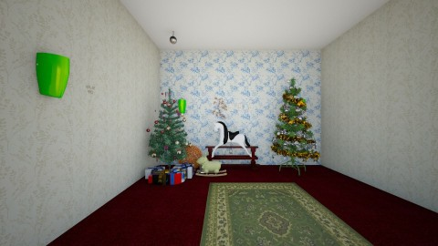 Christmas Room - by KB DAVIS