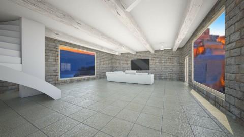 Greek Paradise - Living room - by EmilyAnderson03
